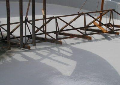 Steel Mill Treatment Plant Clarifier Lining